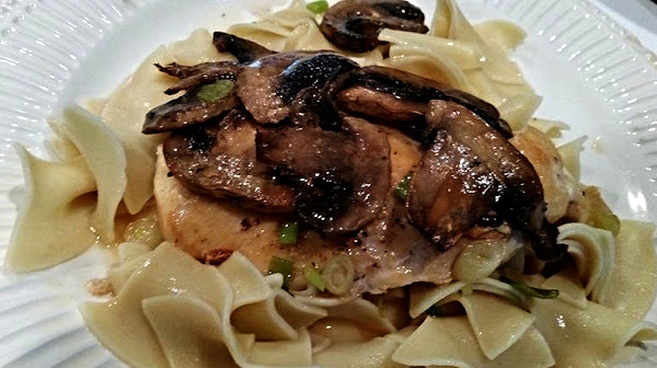 ~ Simple Pleasures Chicken Marsala ~ Recipe