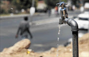 WASTE, NOT: The City of Joburg aims to curb water losses by improving systems PHOTO: SYDNEY SESHIBEDI
