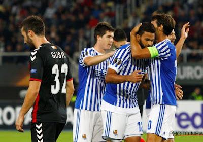 De nouveau des blessés et un partage pour la Roma, la Sociedad se relance sans son Diable