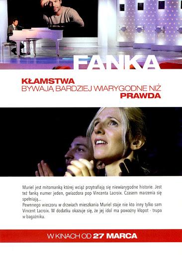 Tył ulotki filmu 'Fanka'