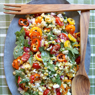 Charred Corn Summer Salad