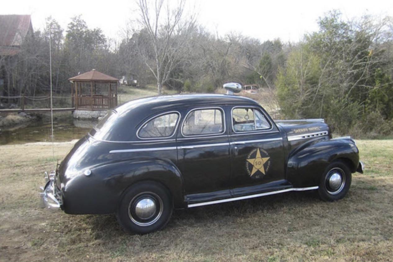 1941 Chevrolet Special Deluxe Police Car in Nashville Hire Lebanon