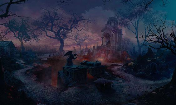Cemetery 1 by KoTnoneKoT.deviantart.com on @deviantART