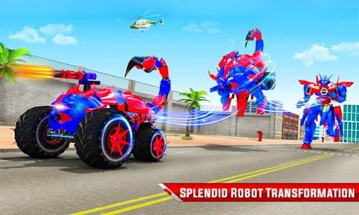 Scorpion Robot Monster Truck Transform Robot Games 5