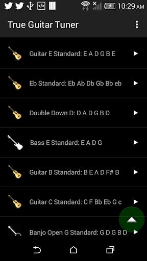 True Guitar Tuner screenshots 1