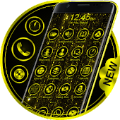 Gold Launcher Theme Free