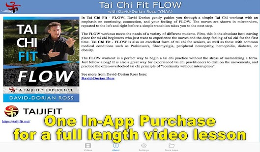 Tai Chi Fit FLOW- screenshot thumbnail