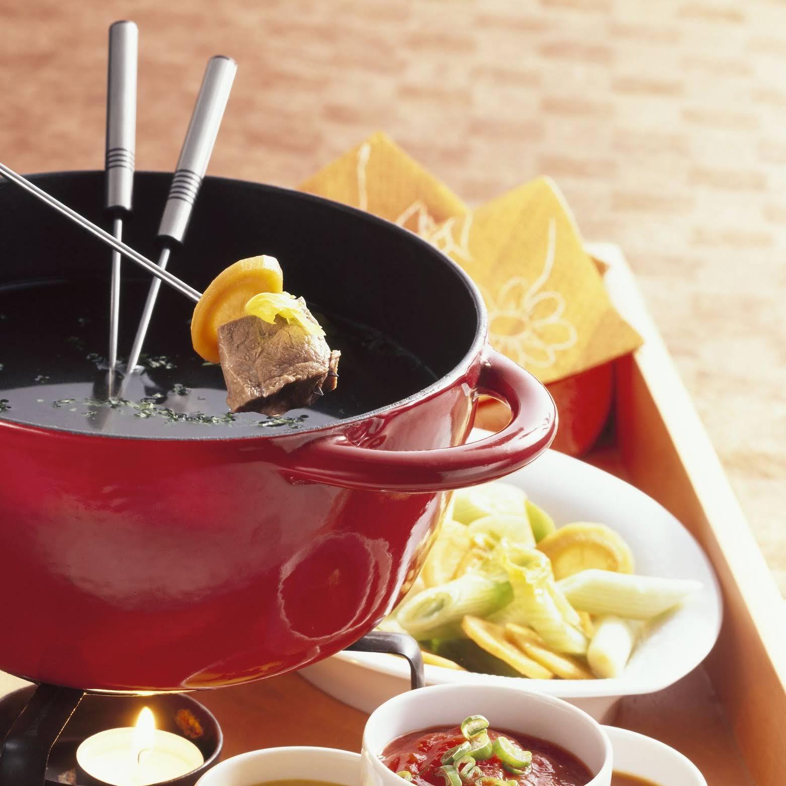 Chinese Beef Hot Pot - Fondue Chinoise