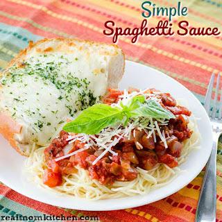 Simple Spaghetti Sauce Recipe
