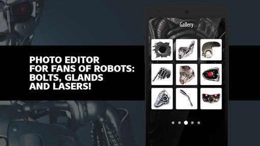 Iron Robot Photo Editor Screenshot