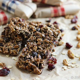 Dark Chocolate Protein Granola Bars