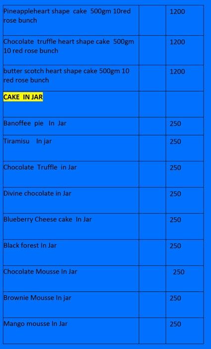 24 Hour Cake menu 6