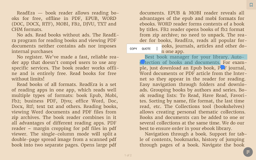 ReadEra - book reader pdf, epub, word 19.12.27+1120 screenshots 12