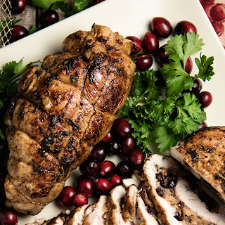 Cranberry And Apple Stuffed Turkey Breasts