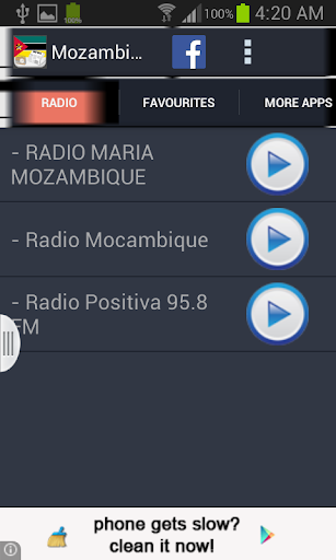 Mozambique Radio News