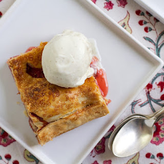 Strawberry Rhubarb Slab Pie Recipe