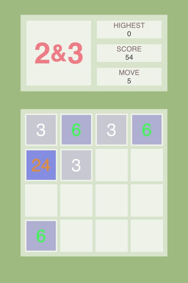 Скриншот Two & Three : Addictive Game