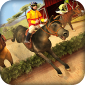 Horse Riding Jumping Race Free