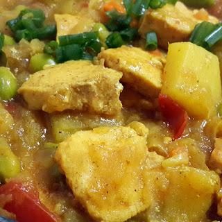 Edamame Chicken Curry