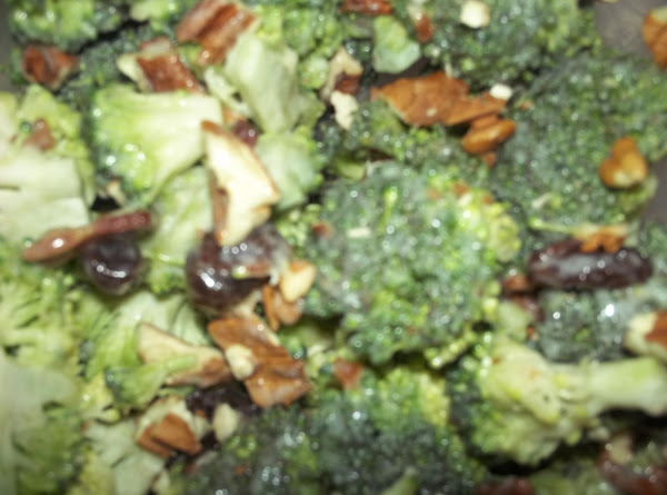 Easy Recipe For Broccoli Salad?