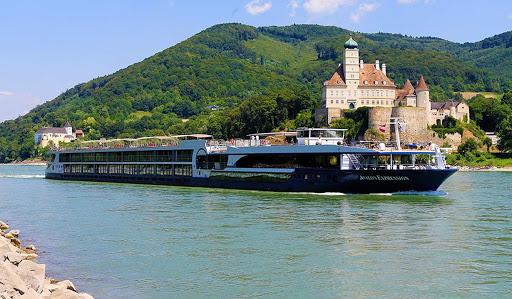 Avalon Expression sailing the Danube River in Wachau, Austria.