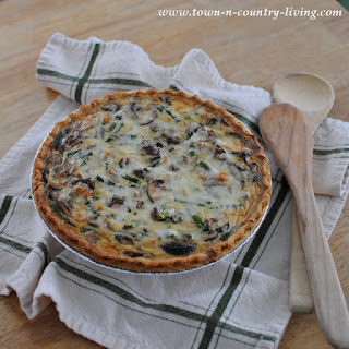 Asparagus Mushroom Quiche Recipes