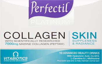 Vitabiotics Perfectil Platinum Collagen Beauty Drinks - 10 x 50ml