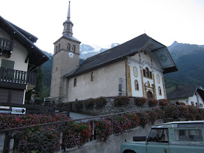 Photo: It doesn't take long to reach Les Contamines, where we spend the night at a charming B&B.