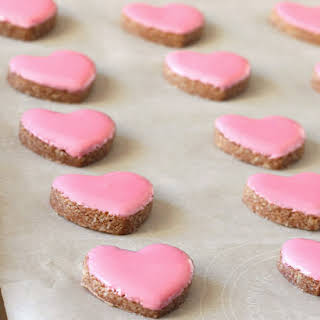 Valentine's Cinnamon Heart Cookies {Zimtsterne} Gluten, Dairy Free.
