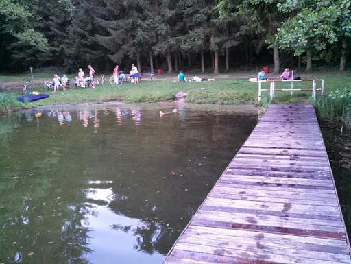 Gerettet: Auch der Steg am beliebten Damitzower See (Gemeinde Tantow) - im Landkreis UM - kann bestehen bleiben. Archivfoto: ASC