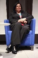 """Photo: Roma Balwani -  final panel discussion: """"Chief Comms Officer's Role"""" Panel - 2012"""