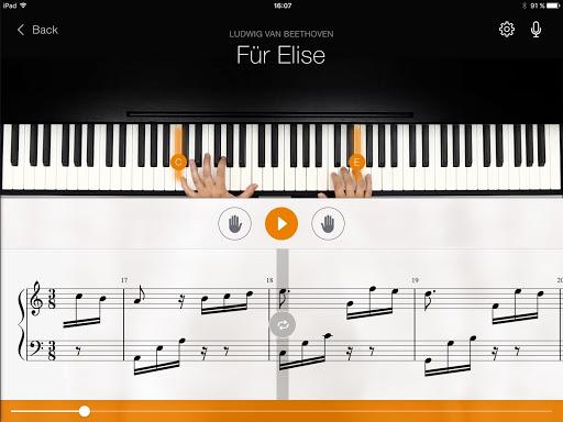 flowkey: Learn Piano 1.6.0 screenshots 9