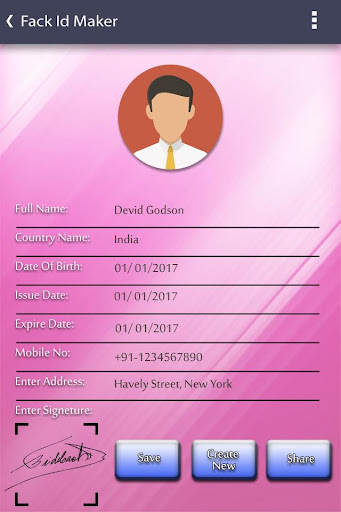 Download Fake ID Card Generator on PC & Mac with AppKiwi APK Downloader