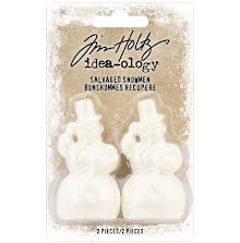 Tim Holtz Idea-Ology 2/Pkg - Salvaged Snowmen