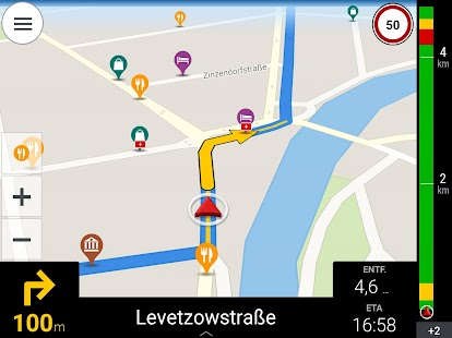 CoPilot GPS - Navi-App Screenshot