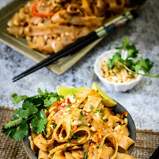 Vegetarian Pad Thai Noodles Recipe