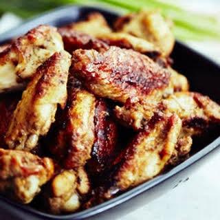 Pan Fried Chicken Wings.