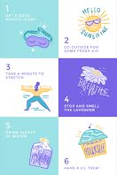 Six Steps for Self Care - Pinterest Promoted Pin item