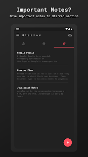 Scrittor -  A simple note app  Screenshot