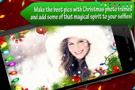 make the best pics with christmas photo frames and add some of that magical spirit to your selfies decorate images with free holiday borders and special