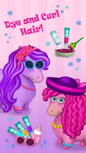 Pony Sisters in Hair Salon- screenshot thumbnail