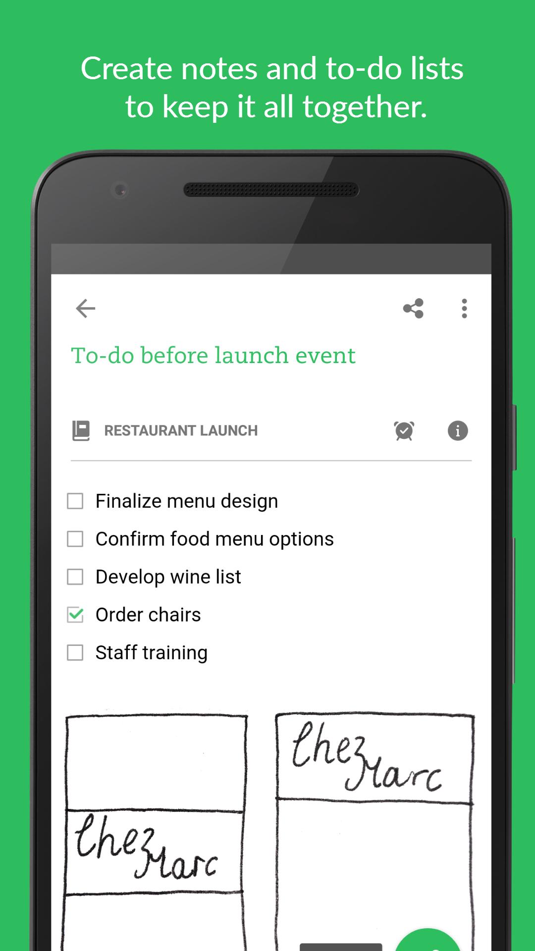Evernote - stay organized. screenshot #1