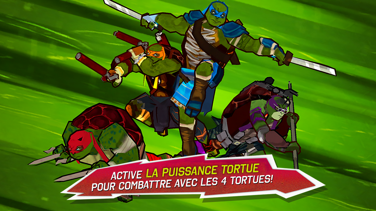 Ninja Turtles – Capture d'écran