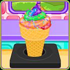 Rainbow Ice Cream Cooking icon