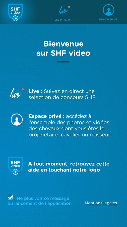 SHF Video – Capture d'écran