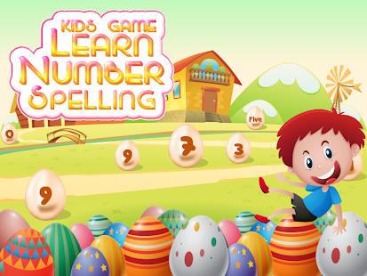 Learn Number Spelling - náhled