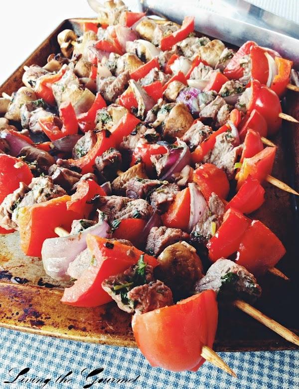 Bbq Beef Kabobs Recipe