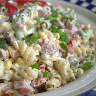 Sausage Veggie Pasta Salad