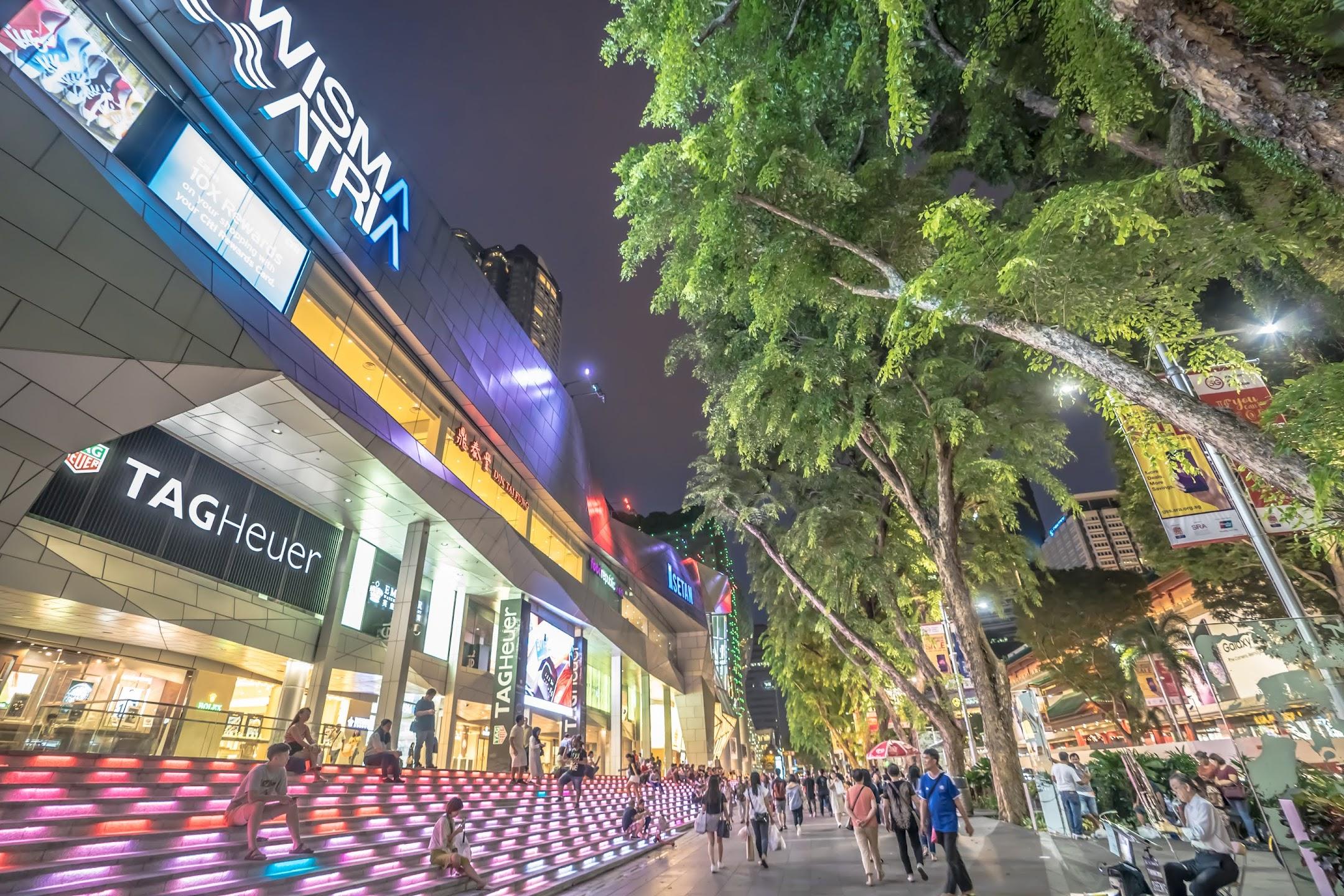 シンガポール Wisma Astra4