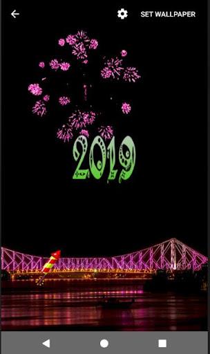 4D Happy New Year 2019 Live Wallpaper 1.0 screenshots 12